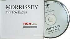 MORRISSEY CD The Boy Racer UK PROMO ONLY in DIFF. PS Mint / Unplayed