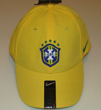 2014 Team Brasil Brazil Cap Hat Soccer European Football World Cup Yellow