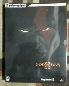 God Of War II Limited Edition Official Strategy Game Guide + Fold-Out AS IS