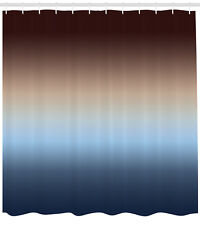 Home Decor Ombre Colorful Design Art Print Fabric Extra Long Shower Curtain
