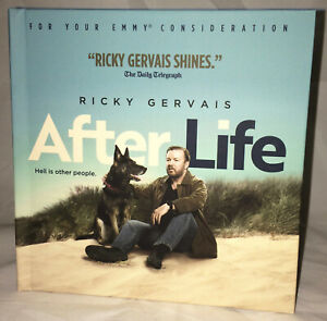AFTER LIFE Ricky Gervais Complete Season 1 NETFLIX Emmy 2019 FYC DVD BRAND NEW!!