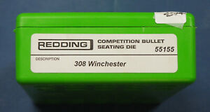 Redding .308 Win Competition Bullet Seating Die-(55155)