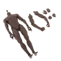 "1/6 Scale Male Figure Body Doll Model Toys For 12""  Man Sculpt DIY"