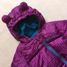 Baby Viola Bear Orecchie Regatta dare 2 B Trapuntato Imbottito carrozzina Neve Suit Età 0-6 M