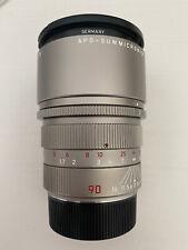Leica M 2/90 Apo-Summicron-M ASPH #11632 Titanium Edition inkl Leica UVa E55 TOP