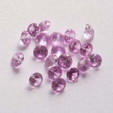 Lot of 5 NICE 4 MM Round Cut Rose Zircon Color Lab Corundum Loose Gemstones SALE
