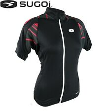 Sugoi RS Womens Cycling Jersey - Black Pink - S M L
