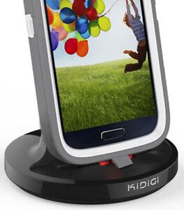 KiDiGi Cargador Base Estación para Samsung Galaxy S4 S6 Borde Plus S7 Nota 5