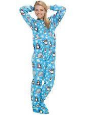Winter Wonderland Footed Pajamas Adult Penguins Bears Igloo XL or MP/W 20/22W