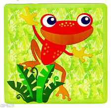 """5"""" ANIMALS OF THE RAINFOREST FROG TOAD JUNGLE WALL SAFE STICKER BORDER CUT OUT"""