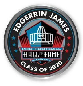 EDGERRIN JAMES NFL HALL OF FAME CLASS OF 2020 LAPEL PIN SEAHAWKS COLTS CARDINALS
