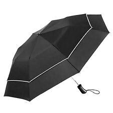 Automatic Open&Close Umbrella Wind Resistant Men Women Double Canopy Umbrella