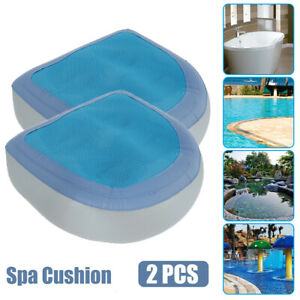 2PCS Home Spa Seat Booster Inflatable Spa Cushion Hot Tub Accessories Adult Kid
