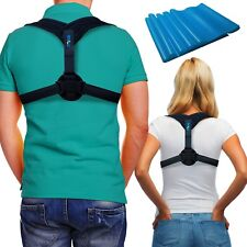 Posture Corrector Back Support Brace ~ INCLUDES EXERCISE BAND