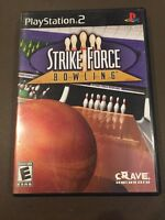 PS2G252 Strike Force Bowling (Sony PlayStation 2, 2004)