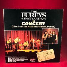 THE FUREYS AND DAVEY ARTHUR In Concert 1984 UK Vinyl LP Live Dublin EXCELLENT