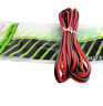 16 Gauge Speaker Wire Red Black Cable Power Ground Strand Copper 10 Ft Car Home