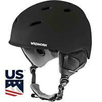 WildHorn Outfitters Drift Snowboard/Ski Helmet Small Stealth Composite Foam