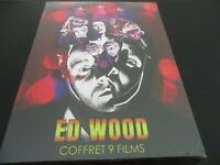 "COFFRET 6 DVD NEUF ""ED WOOD : 9 FILMS, LA PRESQU'INTEGRALE"""