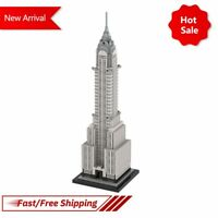 Chrysler Building in New York City Landmark Urban Street KId Toy Modular Blocks