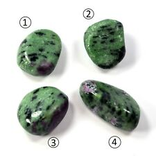 Ruby in Zoisite - One piece 8 - 9 g Natural Tumbled
