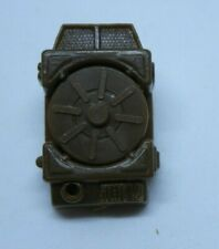 1983 Tripwire Mine Detector Backpack + 3 Mines Wrong Color Vintage Weapon GI Joe