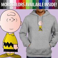 Charlie Brown Peanuts Snoopy Comics Cartoon Pullover Sweatshirt Hoodie Sweater
