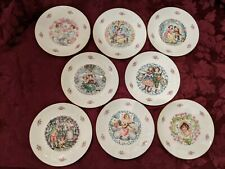 New Listing8 - Royal Doulton Valentine Day Collector Porcelain Plates From 1977 To 1984