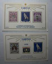 Denmark Christmas Seal Exhibition Philatelic Souvenir Sheets