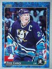 NHL 547 Troy Loney Mighty Ducks of Anaheim Score 1994/95