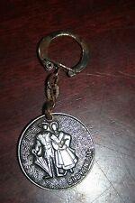 Slovenija Vintage Metal Souvenir Keychain