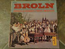 "Album By Czechoslovak Folk Music Orch. of Radio BRNO, ""Broln"" on Monitor"