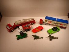 LARGE LOT MATCHBOX LESNEY KING SIZE/ Corgi/ Tonka/ Tootsie 1970's?
