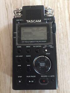 TASCAM DR-100 MKII 24bit/96kHz Linear PCM Recorder. Mint