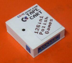 Commodore 64/128 TapeCart 126in1 Polish Games