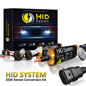 New GE Xenon HID Kit High Low Beam Fog lights H4 H7 H10 H11 H13 94 97 9006 5202
