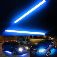Blue LED DRL Strip Lights Car Truck Boat Interior 84SMD 17CM Under Dash Floor