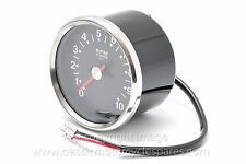 Tachometer, BSA Triumph, 1970-78, 4:1 ratio, Black, 90-0166