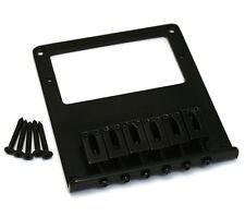 Black Humbucker High Mass Bridge for Fender Telecaster/Tele® GB-THB-B