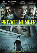 Private Number,Excellent DVD, and Hal Ozsan, Nicholle Tom, Judd Nelson, Tom Size