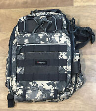 Piscifun Fishing Tackle Storage Bag Shoulder Backpack/Cross Body Sling - Camo