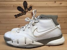 2006 Nike Air Zoom Kobe I 1 sz 6.5y GS White Grey 313167-111