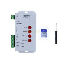 T1000S DMX 512 RGB LED Controller Configurable SPI SD Card WS2801 WS2812B APA102