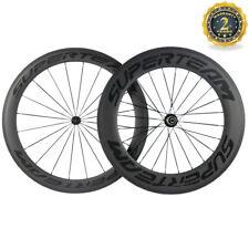 23mm Width Superteam 60/88 Carbon Wheels Road Bike Clincher Bicycle R13 Hub 700C