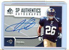 2006 SP Authentic Tye Hill Rookie Autograph Card St. Louis Rams