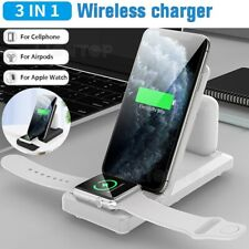 3 in 1 Charging Station Charger Stand Dock For Apple Watch iPhone iPad Air Pods