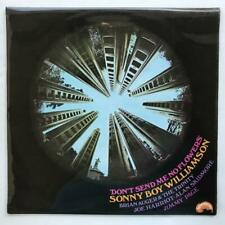 Sonny Boy Williamson Don't Send Me No Flowers UK LP EX/EX Jimmy Page Brian Auger