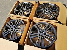 """2018 20"""" OEM factory Audi Q5 A6 S6 satin black rims wheels SLINE a4 s4 rims"""