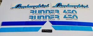 Lamborghini Runner 450 Autocollants stickers decal graphics