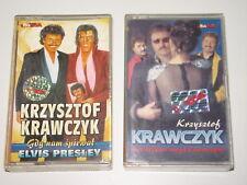 2 x KRZYSZTOF KRAWCZYK - Arrivederci / Elvis Presley - MC cassette tape /4312